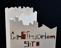 Construction Site - Exhibition Brochure Redesign