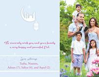 Eid Mubarak - Holiday Greeting Card