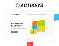 Site web - Actikeys