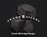 Frank Allart App Design