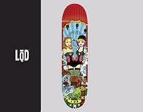 LQD Skateboard, 2014