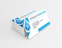 Window Cleaning - simply business card