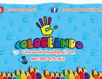 Coloreando - Diseño - Impresión