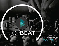 TOP BEAT APP | Investors Deck | Copywriting