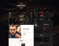 Berger | Barbershop & Tatoo WordPress Theme