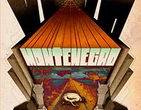 Logo y arte de tapa para la banda Montenegro