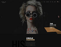 Fashion - Onepage PSD template