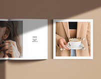 Square Magazine Mock-Ups