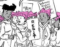 Political Cartooning 2017