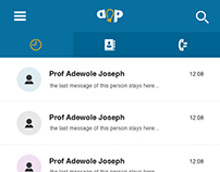 AOP mobile app