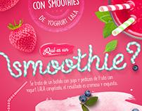 Infografía para Yoghurt Lala.