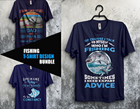 Fishing T-Shirt Design Bundle​​​​​​​