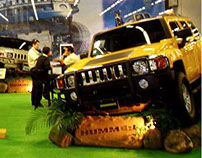 Hummer Exhibit, Car Expo GDL.