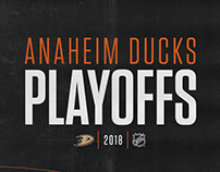 2018 | Anaheim Ducks Playoff Creative
