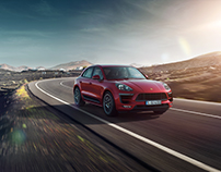 Porsche Macan GTS (2017) - CGI
