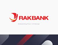 RAKBANK | On Boarding - UI Design
