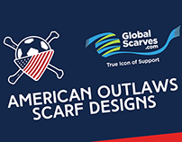 Global Scarves American Outlaws Designs