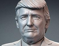 Donald Trump. Emotions