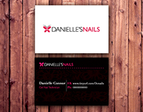 Danielles Nails - Logo
