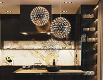VIZprofistudio Luxury Kitchen Visualization, 3D, CGI