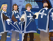 Walt Disney's THE THREE MUSKETEERS