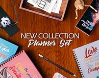 SketchBook ®   Planner Set