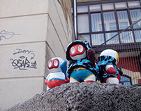 The gang of three with Miscelanius Ganekogorta