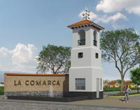 Fraccionamiento La Comarca 3D.