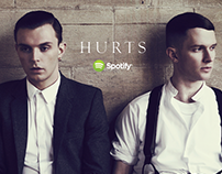 Hurts – Don't Let Go – an interactive Spotify novel