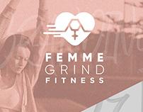 Femme Grind Fitness Branding
