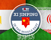 Xi Jiping in the Middle East Sting