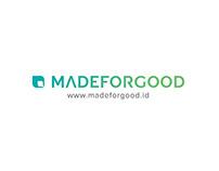 Logo Design & Brand Guideline for madeforgood.id