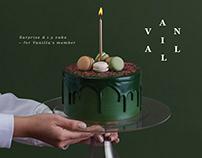 VANILLA D.I.Y CAKE