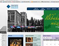 Klasik Müzik Web UI Design