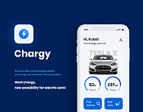 Chargy - iOS app for electric cars