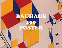 Bauhaus 100 - Poster