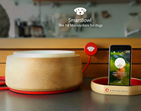 SmartBowl - First Meco System For Dogs