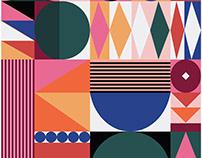 Geo Festival pattern design