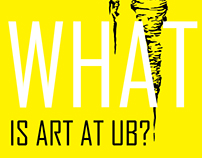 UB Art Dept. Postcards