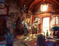 """Blondebeard's Restaurant"" Making of"