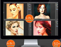 50+ hdr realistic oil painting effect bundle v.7