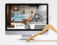 Design of fashion ecommerce website C&A.com