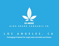 HI-NESS Cannabis Packaging Proposal