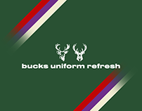 Milwaukee Bucks Uniform Refresh