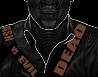 Ash vs Evil Dead- Vector Poster