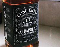 Proyecto botella tributo a Jack Daniel's