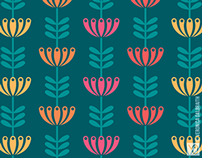 Honeysuckle [Surface Pattern Design Collection]