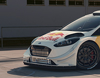 Ford Fiesta WRC CGI.