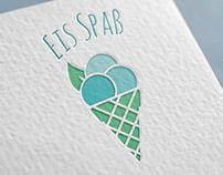 Logo für eine Eisdiele