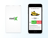 Stock X Mobile App Redesign